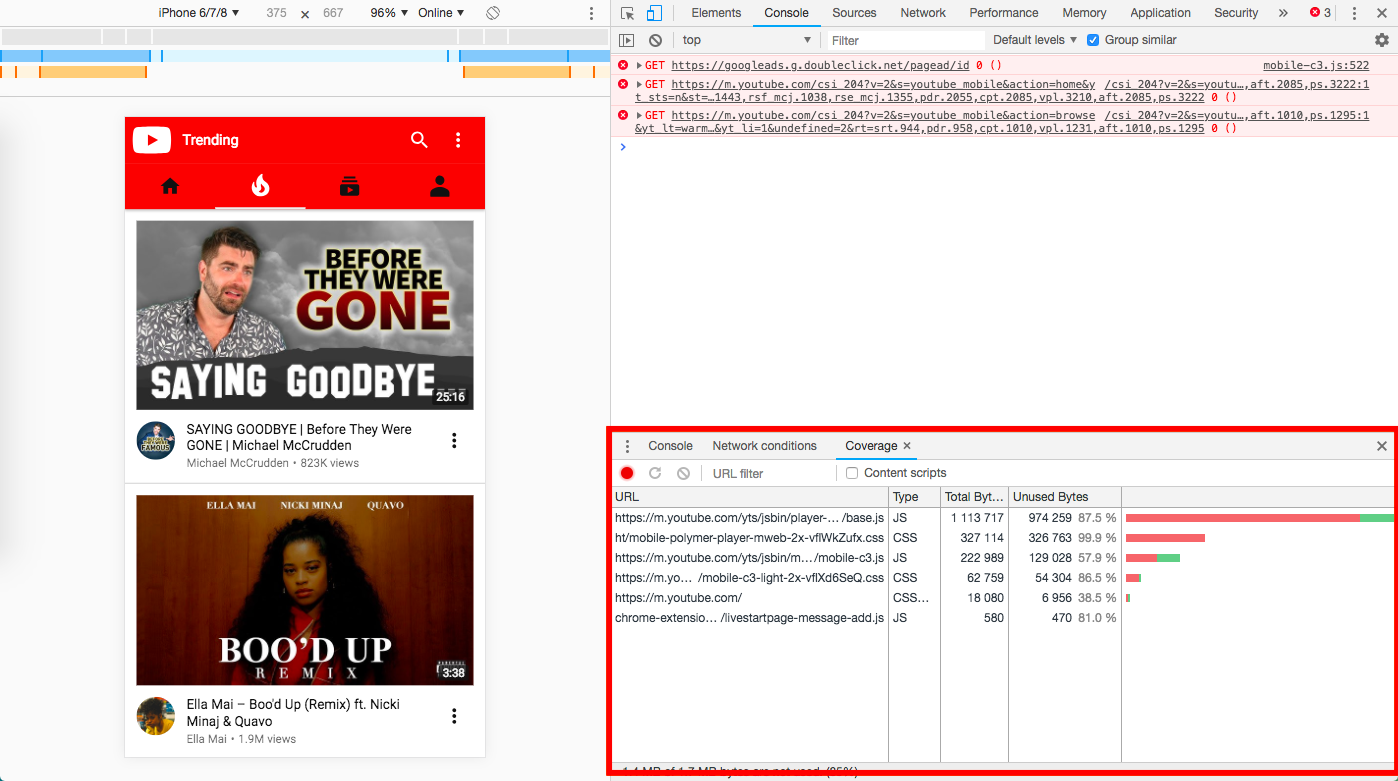 Using Puppeteer to Extract Code Coverage Data from Chrome Dev Tools